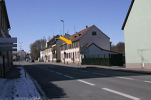Nos locaux: Vu depuis la route de Schirmeck